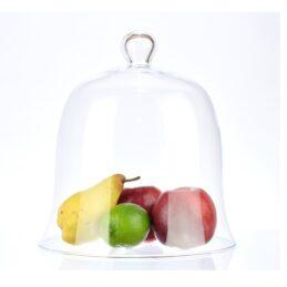 handmade-clear-circular-glass-dome-display-cloche-bell-26x24-cm