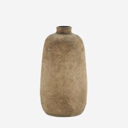 washed-dark-nude-terracotta-vase-tall-21-cm-by-madam-stoltz