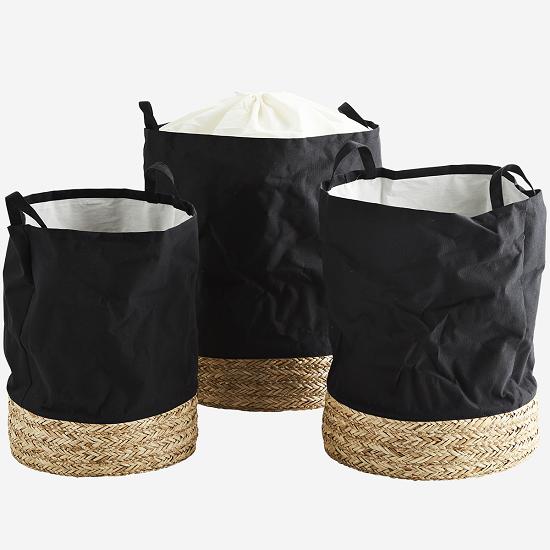 set-of-3-black-baskets-with-straw-base-by-madam-stoltz