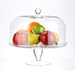 display-cake-stand-with-glass-dome-cover-with-floral-pattern-tall-28-cm-x-29-cm
