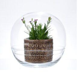 large-glass-bowl-with-lid-globe-shape-dish-26-cm