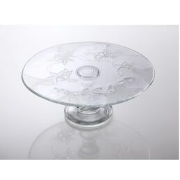 large-glass-display-cake-stand-plate-wedding-party-33-cm-flowers