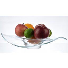 handmade-unique-shape-clear-glass-bowl-o-35-cm
