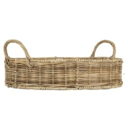 basket-with-high-edge-and-2-handles-rattan-o40-cm-by-ib-laursen