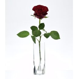 small-thick-glass-vase-handmade-square-15-5-cm