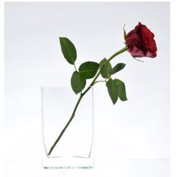 small-thick-glass-vase-handmade-rectangular-16-cm