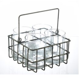 wire-metal-basket-carrier-with-4-glasses-by-ib-laursen