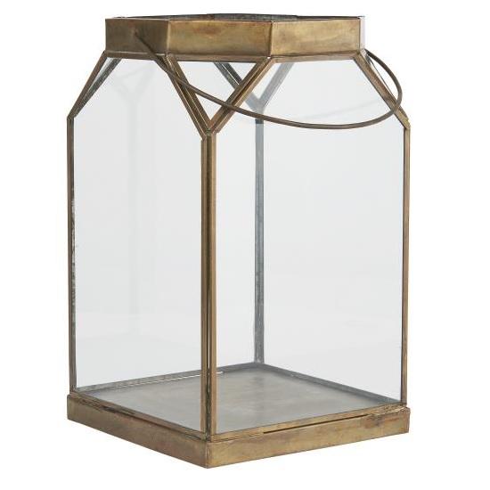 large-glass-lantern-octagonal-open-brass-tall-35-cm-by-ib-laursen