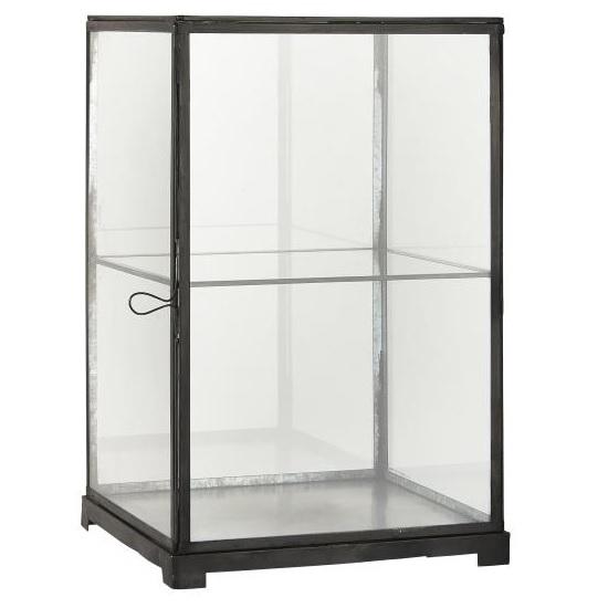 black-metal-display-cabinet-with-1-shelf-h41-5-cm-by-ib-laursen