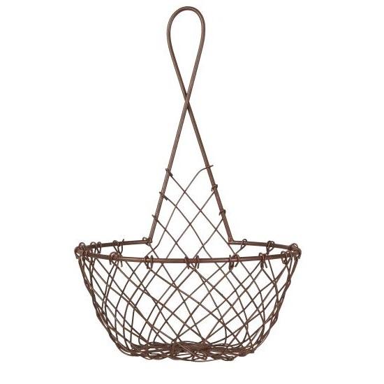 medium-metal-wire-hanging-basket-pot-holder-brown-by-ib-laursen